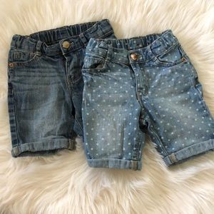 Toddler girls Bermuda shorts